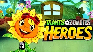 Plants vs Zombies Heroes #2 ВСПЫШКА НА СОЛНЦЕ  РАСТЕНИЯ ПРОТИВ ЗОМБИ ГЕРОИ Веселый мульт про зомби