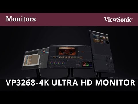 ViewSonic LCD 液晶顯示器 VP3268-4K
