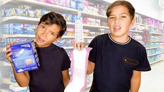BROTHERS Buy SISTERS PERIOD/PUBERTY KIT!!