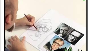 Lápiz y papel -01- Diferentes estilos de caricatura