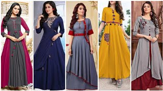 Trending Designer Comfortable Long Gown Tyipe Dresses For Girls