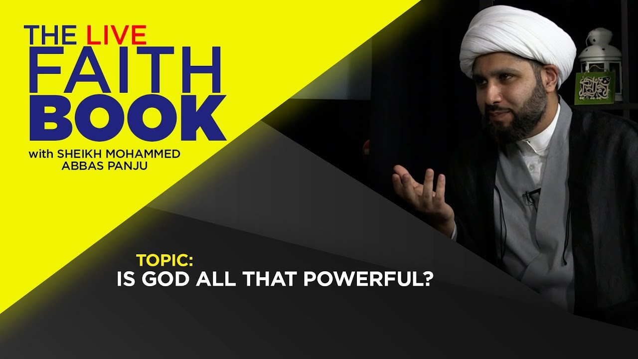 Is GOD all that powerful?