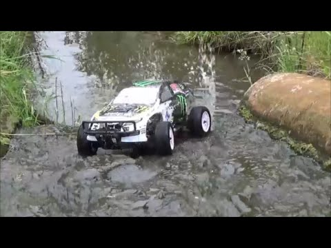 RC Rally Car Meets Water