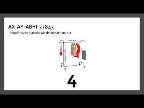 Kleiderstangen gesucht? 7 Top Tipps!