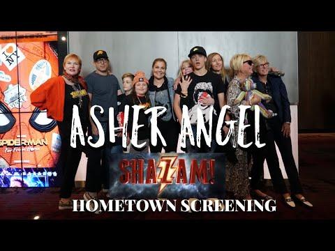 Asher Angel - Hometown Shazam! Screening
