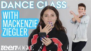 Mackenzie Ziegler Teaches Sage Rosen the Biggest Dance Moves on Tik Tok | Teen Vogue