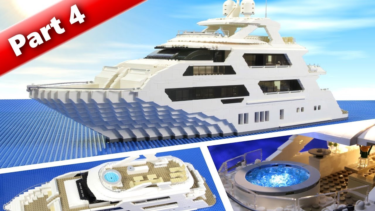 Lego Super Yacht MOC - Completed (part 4)