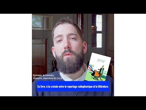 Sylvain Arrestier Sélection du Prix du livre du Réel 2019