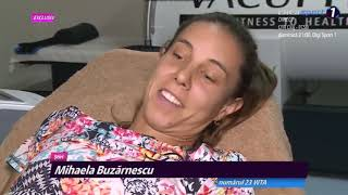 Mihaela Buzarnescu Top Class Recovery After Injury And TALKS To Her ANKLE