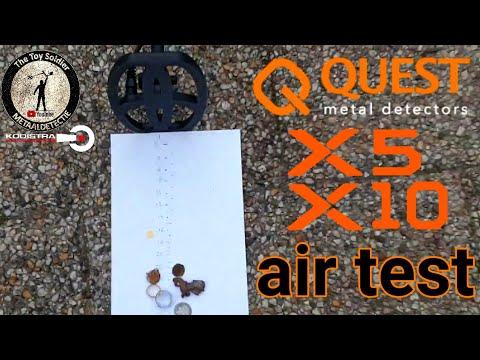 QUEST X5 Metal Detector