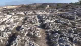 preview picture of video 'Dingli / Buskett Garden / Clapham Junction cart ruts - Malta'