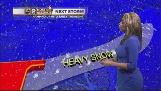 Rain today, snow tomorrow in Baltimore
