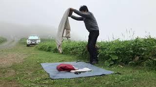 Naturehike Cloud Up2 テントを実際にキャンプ場で片付けてみた