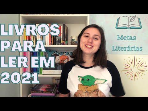 LIVROS PARA LER EM 2021 - METAS LITERÁRIAS