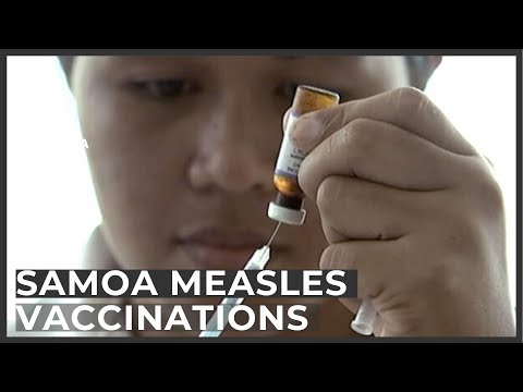 Samoa measles vaccination campaign a 'success'