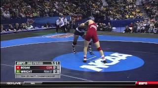 NCAA Wrestling National Championships Division 1 Steve Bosak vs. Quentin Wright