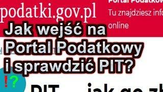 Portal Podatkowy - Jak Wejść, Logowanie, Rozliczanie PIT Za 2018 W 2019