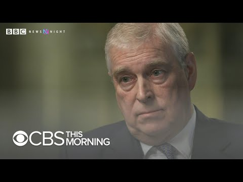 """Prince Andrew says staying with Epstein in NYC was """"wrong"""""""