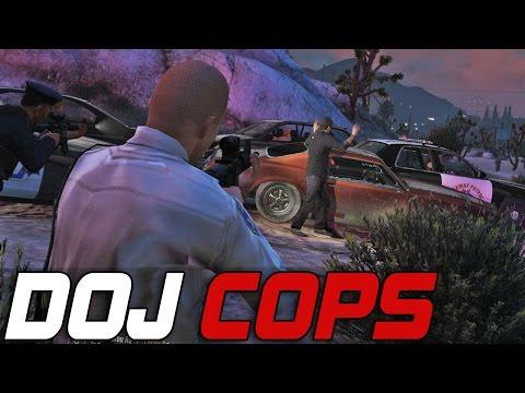 Dept. of Justice Cops #141 - Double Homicide Suspects (Law Enforcement)