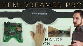 """REM-Dreamer PRO – Klartraumbrille """"Hands-On"""""""