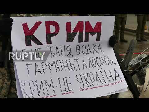 Ukraine: Russian citizens denied access to voting station in Odessa