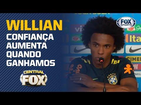 SEM NEYMAR E PRESSIONADOS! Willian e Thiago Silva projetam Brasil x Argentina