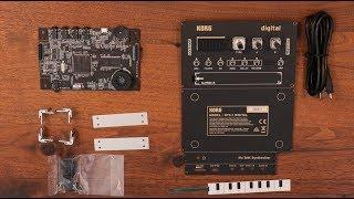 Korg Synthétiseur numérique DIY - Video