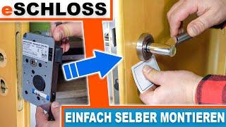 Elektronisches Türschloss - Montageanleitung / eSCHLOSS Standard - eSCH110.
