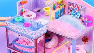 DIY Miniature Dollhouses ~ Disney Princess Dollhouse ~ Full House
