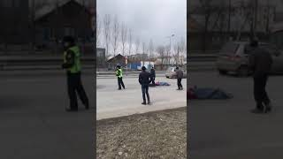 Семей, камаз сбил девочек 2018 04 03 at 17 19 49