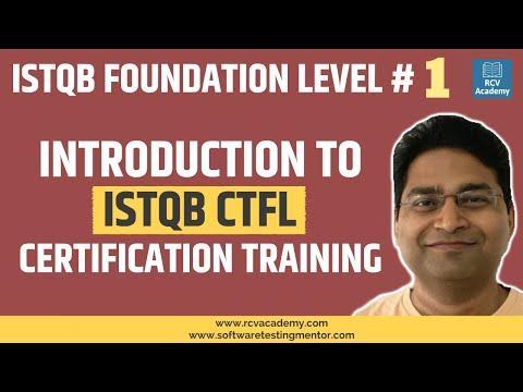 ISTQB Foundation Level #1 - Introduction to ISTQB CTFL ... - YouTube