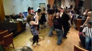 preview picture of video 'Going full swing at the Port Sunlight Salsa Party last night'