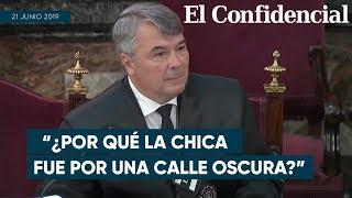 """Abogado de La Manada: """"No es racional que si la víctima tenía miedo fuera por una calle oscura"""""""