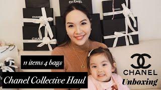 【開箱分享📦】共11款Chanel產品| 購物分享🛍| 4個手袋👜一次過開箱🤗| 入門推介款👍🏻| 二手限量款🤩| 小廢包容量| 開估IG🎉Trendy CC定Chanel 19?🤔