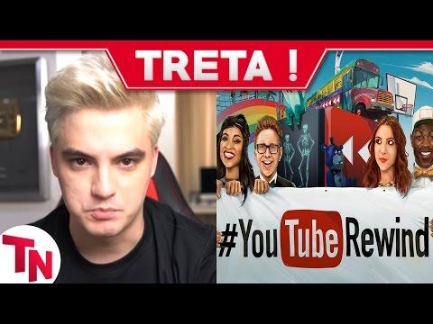 Youtubers criticam Youtube Rewind 2016! Felipe Neto, Coisa de Nerd, Gusta, Kéfera