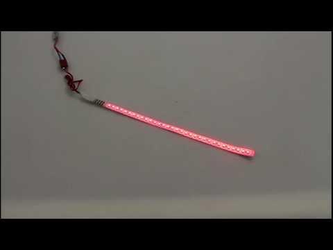 LED STREIFEN FLEX, WASSERFEST 30CM ROT von Planet-Hobby: 9708117