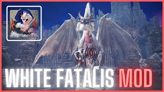 White Fatalis Mod Showcase and Full Fight INSTALLATION TUTORIAL INCLUDED