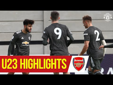 U23 Highlights | Arsenal 3-3 Manchester United | The Academy