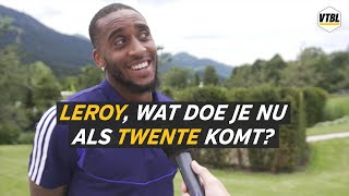 Leroy, wat doe je nu als Twente komt? - VTBL