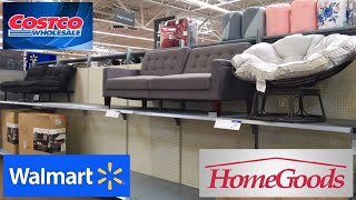 COSTCO WALMART HOMEGOODS HOME FURNITURE SOFAS COUCHES CHAIRS SHOP WITH ME SHOPPING STORE WALKTHROUGH