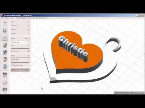 123D Meshmixer: Edit an STL File with Face Groups – Drafting