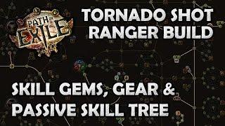 Path of Exile: Crit Puncture Tornado Shot Ranger Gems, Gear  Passives Guide
