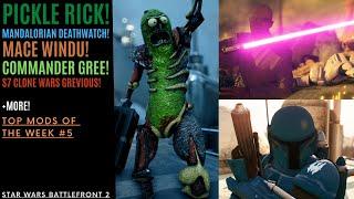 PICKLE RICK Mace Windu Commander Gree and more Top Mods Of The Week 5