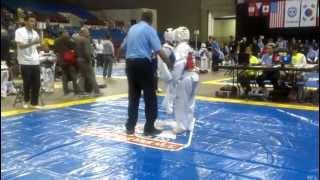 chris barrios from farfans taekwondo fight.1