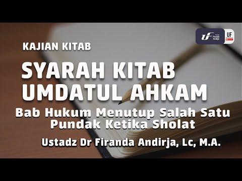 Syarah Umdahtul Ahkam – Menutup Salah Satu Pundak Saat Sholat