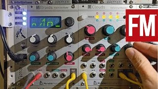 Modular Monthly: Exploring Mutable Instruments Clouds