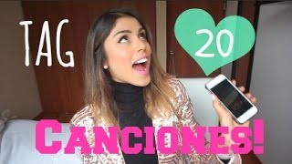 TAG 20 CANCIONES! - Pautips