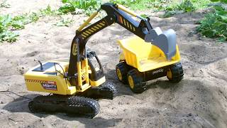 Remote Control Mighty Excavator Digger Dickie Toys