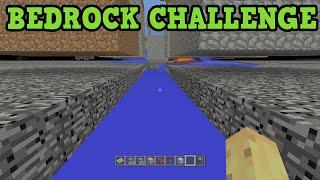 Minecraft PS4 - BEDROCK CHALLENGE (SuperFlat)