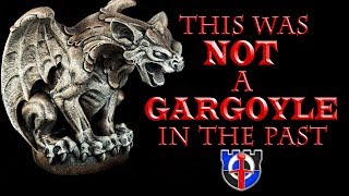 The Historical Origin Of Gargoyles